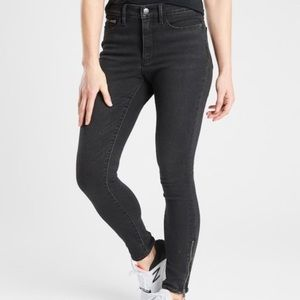 Athleta Sculptek Ultra Skinny Hi-Rise Carbon Jeans